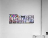 Graffiti, Brick Lane, London  Acrylic Print