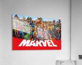 M-arvel squad  Acrylic Print