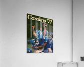 1977 Carolina Football  Acrylic Print