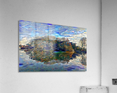 Japanese lake   Acrylic Print