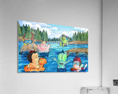 Summer Camp - at the lake - Bugville Critters  Acrylic Print