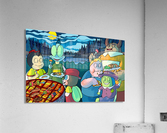 Summer Camp - Cookout - Bugville Critters  Acrylic Print