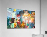 Summer Camp - Bonfire  Acrylic Print