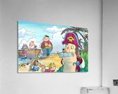 Treasure map  Acrylic Print