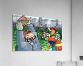 Football With Friends  Acrylic Print