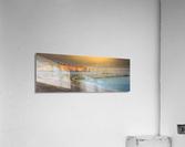 Rocher Perce et son Quai  Impression acrylique