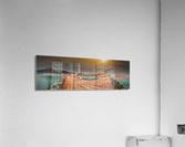 Panorama du quai de Perce  Impression acrylique