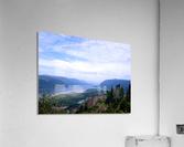 The Gorge   Columbia River  Acrylic Print