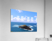 Secret Island  Acrylic Print