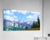 Rocky Mountain High Colorado Panorama   Acrylic Print