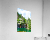 Back Country Waterfalls  Acrylic Print