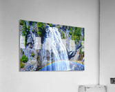 Rainbow Falls Rainier  Acrylic Print