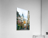 Auxerre France Snapshot in Time  Acrylic Print