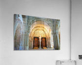 Basilica of Sainte Marie Madeleine 3 of 5 @  Vezelay France  Acrylic Print