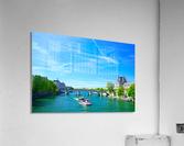 Paris Snapshot in Time 6 of 8  Acrylic Print