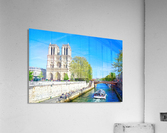 Paris Snapshot in Time 8 of 8  Acrylic Print