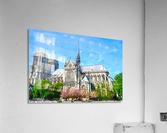 Notre Dame @ Paris  Acrylic Print