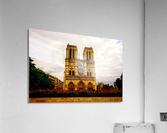 Jeanne d Arc and Saint Croix Cathedral at Orleans   France 1 of 7  Acrylic Print