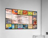 Army Navy Football Ticket Stub Collage  Acrylic Print
