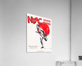 1941 New York Indoor Games  Acrylic Print