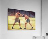 Vintage Boxing Art  Acrylic Print
