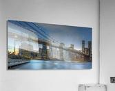 New York - Blue Hour over Manhattan  Acrylic Print