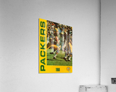 1966 Green Bay Packers Football Art  Acrylic Print