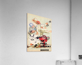 1961 Air Force vs. Denver  Acrylic Print