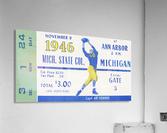 1946 Michigan vs. Michigan State  Acrylic Print