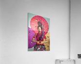 Knit II  Acrylic Print