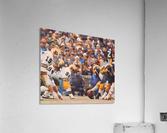 Purdue Football Art  Acrylic Print
