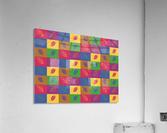 Carreaux   Acrylic Print