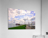Inland Harbor Netherlands 3 of 5  Acrylic Print