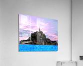Mont St Michel at Sunset  Acrylic Print