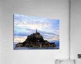 Mont St Michael Rising Tide  Acrylic Print