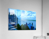 A Day at Mont Saint Michel 11 of 12  Acrylic Print