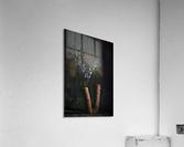Fleur doiseau  Acrylic Print