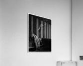 Black and white blues  Acrylic Print