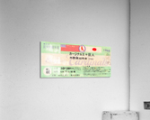 1968 Cardinals Tour of Japan Ticket   Acrylic Print