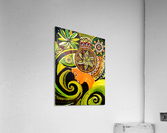 Pensee psyche    Acrylic Print