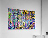 Eclosion fractale  Acrylic Print