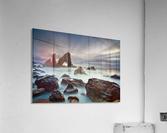 Sea Arch at Crohy Head by Derek Smyth   Acrylic Print