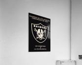 1987 Raiders Un Cometido A La Excelencia Poster  Acrylic Print