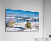 Pointe Saint-Pierre et lIle Plate  Impression acrylique
