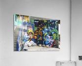 Background Graffiti  Acrylic Print