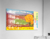 1961 Rose Bowl Washington Win  Acrylic Print