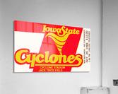1984 Iowa State Ticket Stub Art  Acrylic Print