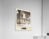 1985 Michael Jordan Polaroid Style Art  Acrylic Print