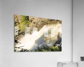 Rocky Mountain Rapids and Waterfalls 7 of 8  Acrylic Print