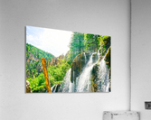 Waterfall Country Colorado 1 of 4  Acrylic Print